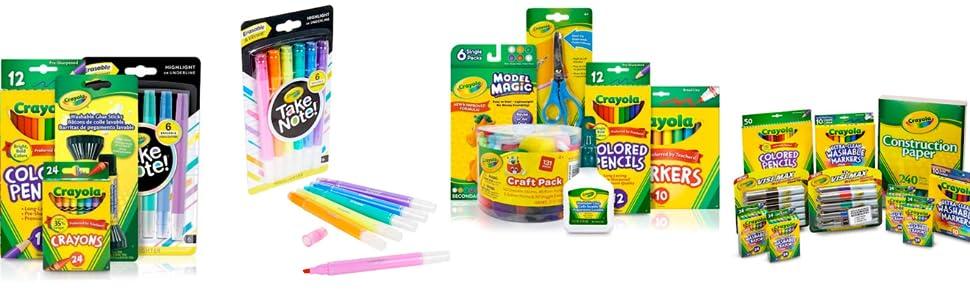 CRAYOLA - Pintura Lavable para niños (6 Botes): Amazon.es: Juguetes y juegos