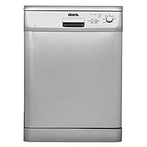 Dora Freestanding Dishwasher 6 programs - Silver