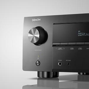 Denon AVR-X3500H - Receptores Audio/Video de Alta definición, Color Negro