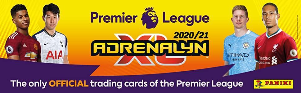 Panini PLA2021AC Premier League 2020//21 Adrenalyn XL Countdown-Kalender