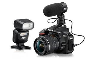 Nikon D5600 + AF-S DX 18-105mm G ED VR + 8GB SD Juego de cámara ...