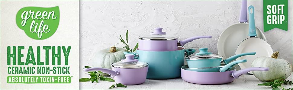 greenlife, ceramic, nonstick, cookware, frypan