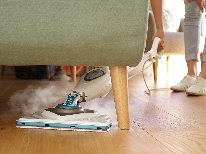 Black decker fsm1616 qs lavapavimenti steam mop con minitesta triangolare lift reach 1600 w - Lavapavimenti casa opinioni ...