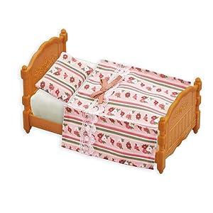 Dolls House Bedding Set Single Bed size 1//12 Handmade