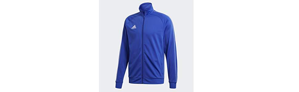 Libero Tempo Pes Amazon it E Uomo Jkt Adidas Sport Core18 Giacca fxwa1gvq