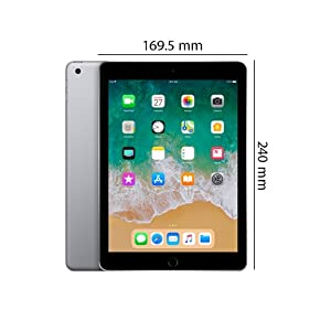Apple iPad (9 7 Inch, WiFi, 32GB) with Facetime - Space Gray: Amazon com