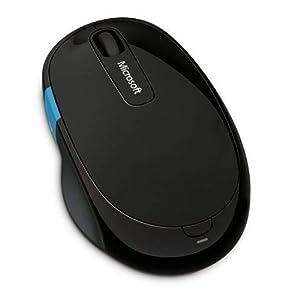 Microsoft H3S-00002 Sculpt Comfort Wireless Mouse - Black