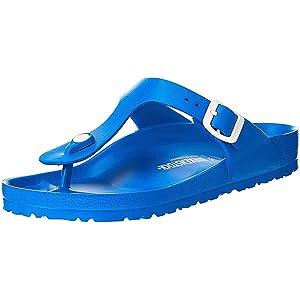 Birkenstock Gizeh EVA, Men's Fashion Sandals, Blue (Scuba Blue), 44 EU