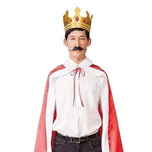 MENコス 王様 キング コスプレ ユニセックス 2点セット