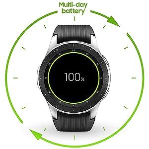 Samsung Galaxy Watch Bluetooth, Reloj inteligente con SAMOLED ...