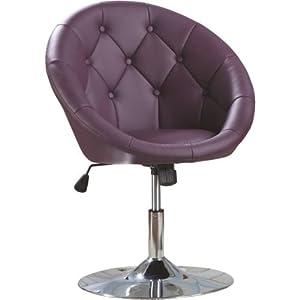 Coaster Round Back Swivel Chair