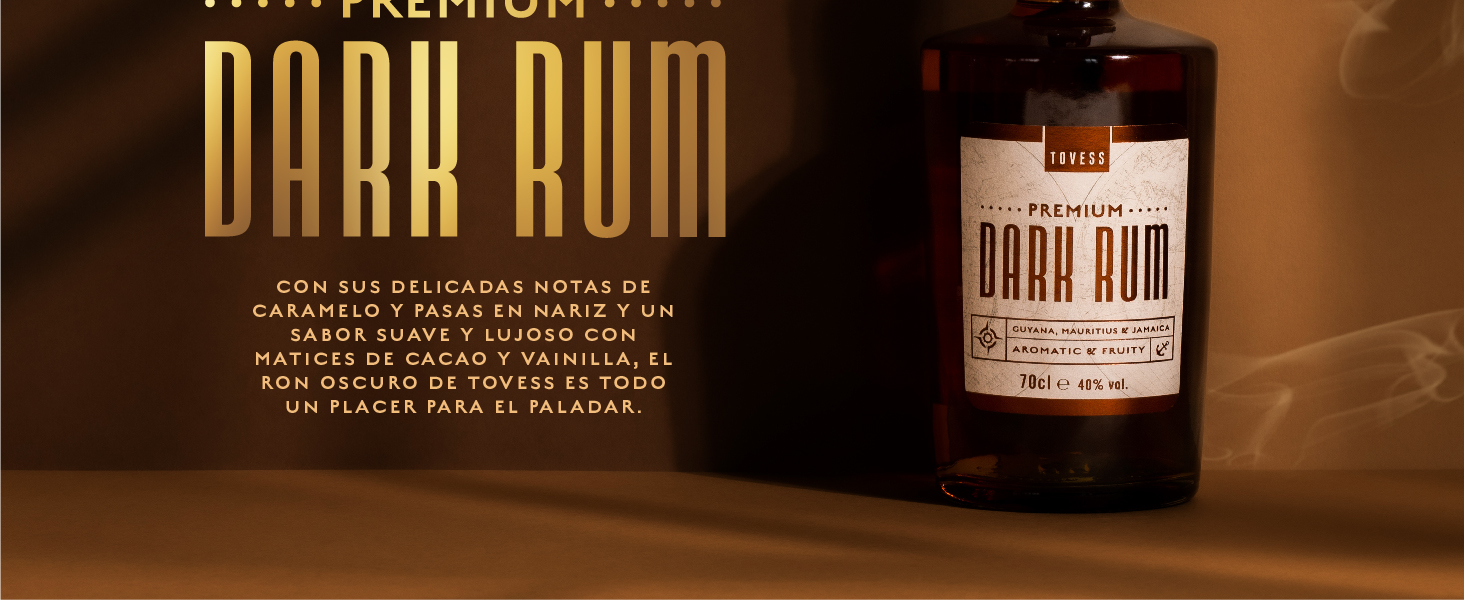 Tovess Ron Oscuro - 700 ml