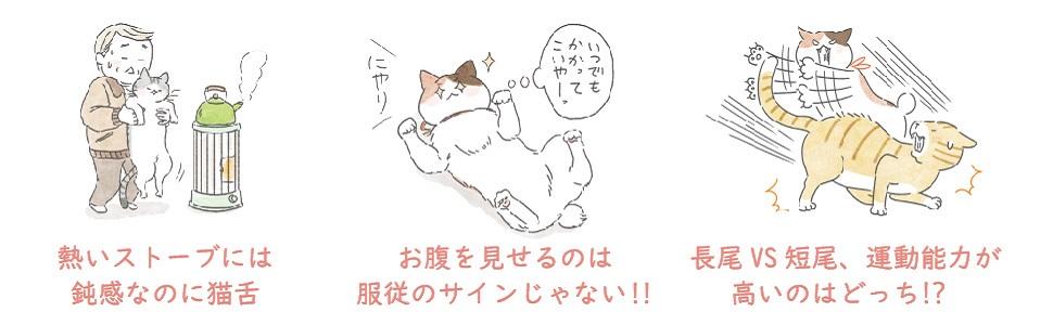 """猫のヒミツ 猫好き一家の猫まみれライフで学ぶ""""猫トリビア"""""""