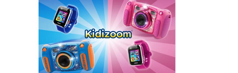 VTech Kidizoom DX2 - Electrónica para niños (Kids smartwatch, Blue, Splash proof, Buttons, 5 yr(s), Boy/Girl) [version aleman]