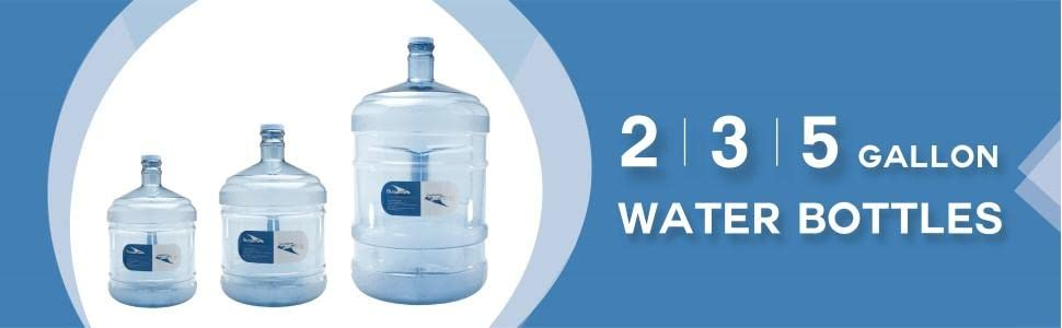 Bluewave Lifestyle PK28GH-48 BPA Free 2 Gallon Water Bottle with 48 mm Cap