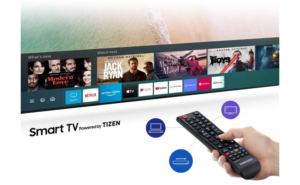 Samsung 32 Inch T5300 HD Flat Smart TV (2020)