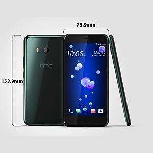 HTC U 11 Dual SIM - 128GB, 6GB RAM, 4G LTE, Brilliant Black