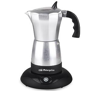Cafetera italiana elec. ORBEGOZO KFE660 | ORBEGOZO 3 - 6 tazas: Amazon.es: Hogar