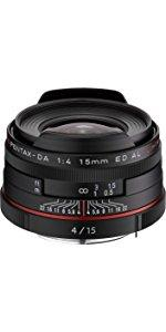 HD PENTAX-DA15mmF4ED AL Limited