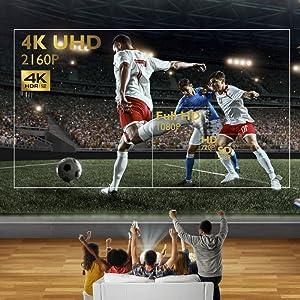 BenQ TK800 - Proyector DLP 3D (4K UHD, 3840 x 2160 Pixels, HDR, 92 ...