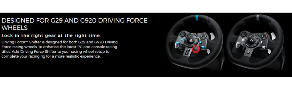 342c57a6cfd Logitech G29 Driving Force Racing Wheel and Pedals (PS4/PS3 and PC ...