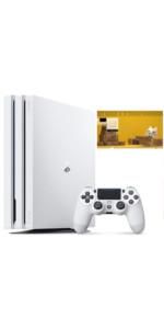 PlayStation 4 Pro グレイシャー・ホワイト 1TB【特典】オリジナルカスタムテーマ 配信