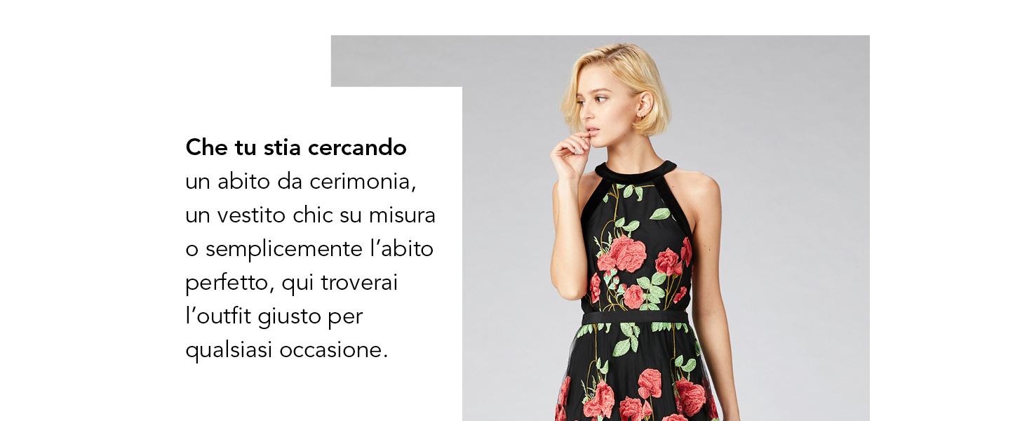 955b8345ea25 Maxi Tubino TRUTH FABLE Donna Dress amp  Abbigliamento it Amazon qFPUTPfnEw