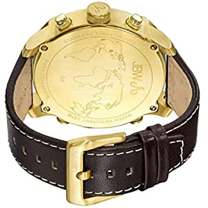 JBW G4 for Men - Dress Leather Band Watch - J6248LO