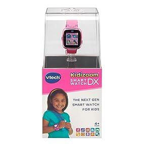El reloj inteligente de próxima generación para niños. Reloj elegante con cámara para tomar fotos y videos, caras de reloj analógico y digital estilo 3D y 8 ...
