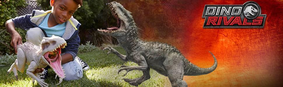 ​​Jurassic World Destroy 'N Devour Indominus Rex with Chomping Mouth, Slashing Arms