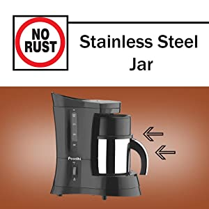 Preethi Zest Coffee Maker Manual : Buy Preethi Cafe Zest CM210 Drip Coffee Maker (Black) Online at Low Prices in India - Amazon.in