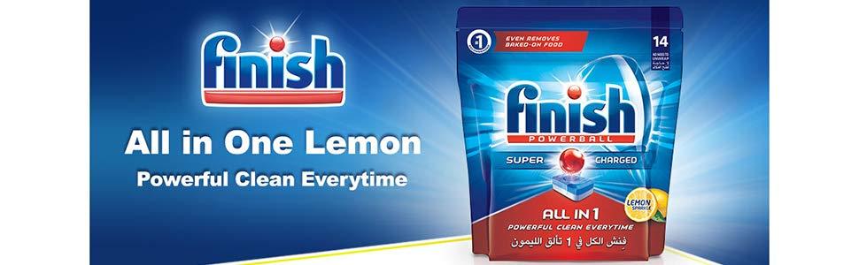 Finish Dishwasher Detergent Tablets