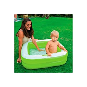 INTEX-57100NP Piscina infantil hinchable cuadrada, colores ...