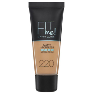 Maybelline Fit Me Matte & Poreless Foundation 220 Natural Beige 30ml