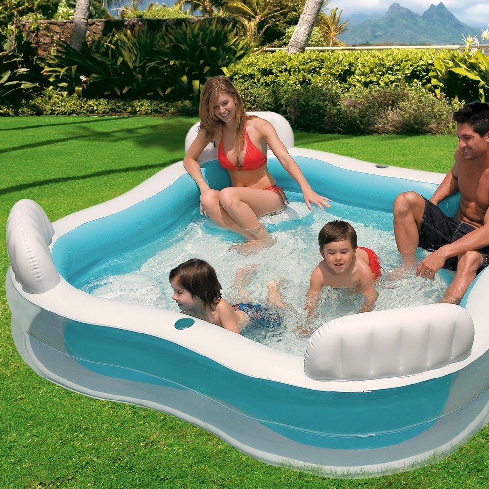 Intex 56475 piscina 4 sedili 229 x 229 x 66 cm amazon - Piscina gonfiabile amazon ...