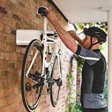 bike lock, airlok, bike store, secure bike, bike hanger, cycle security, bike wall hanger