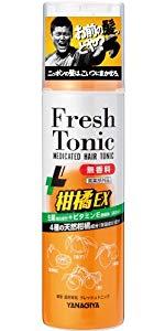 柳屋 薬用育毛 フレッシュトニック 柑橘EX <無香料> 190g