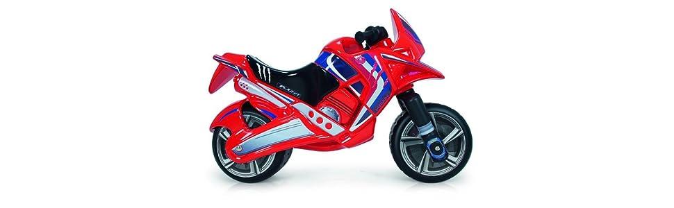 INJUSA Moto correpasillos Hawk Color Rojo para Niños de más de 3 ...