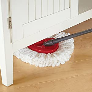 Cleaning Spin Mop with Bucket
