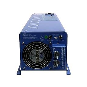 AIMS Power 6000 Watt 24V DC to 120/240V AC Split Phase