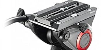 Manfrotto MVH500AH Rotule Vid/éo Noir Mini Pro Plaque de Base