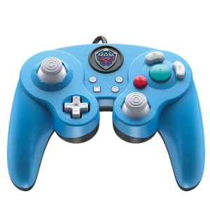 Amazon Com Pdp 500 100 Na D2 Nintendo Switch Legend Of Zelda Link Gamecube Style Wired Fight Pad Pro Controller Video Games