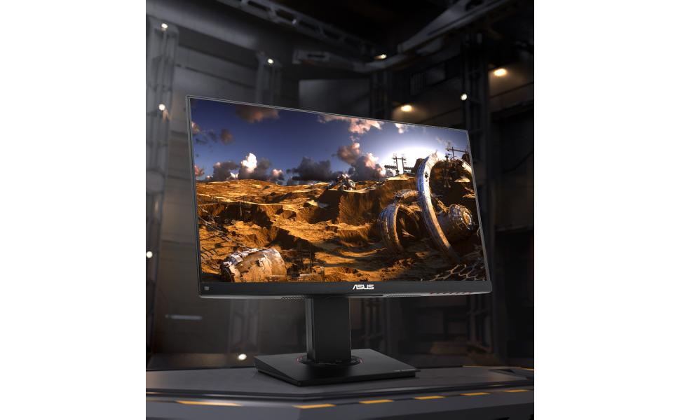 Asus TUF Gaming Monitor, 23.8 Inches Full HD, Flicker Free, Low Blue Light Filter, Anti Glar