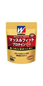 ウイダー マッスルフィットプロテインプラス カフェオレ味 360g (約18回分)