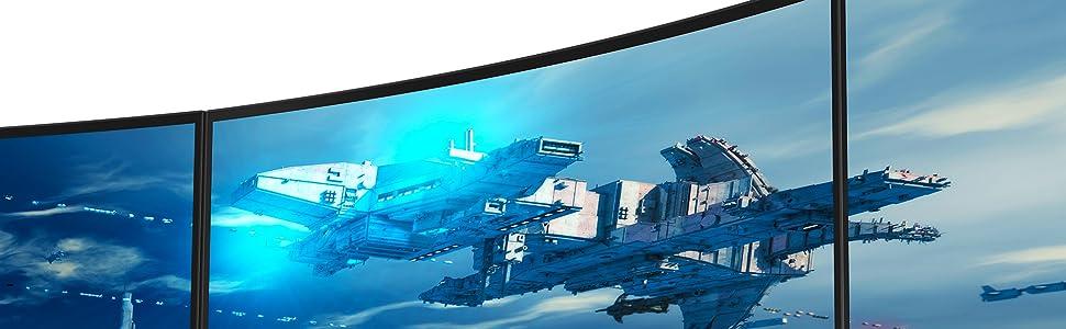 Los monitores curvos más vendidos