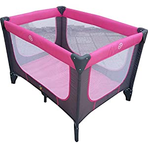 Cradle for Children with Mosquito Net by Babylove, Pink, 27-732