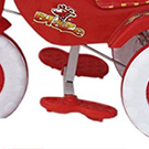 Amardeep and Co Baby Tricycle 1-3 Yrs W/Shade and Parental Control,
