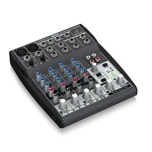 Behringer Xenyx 802 color negro - Mezclador para DJ: Amazon.es ...