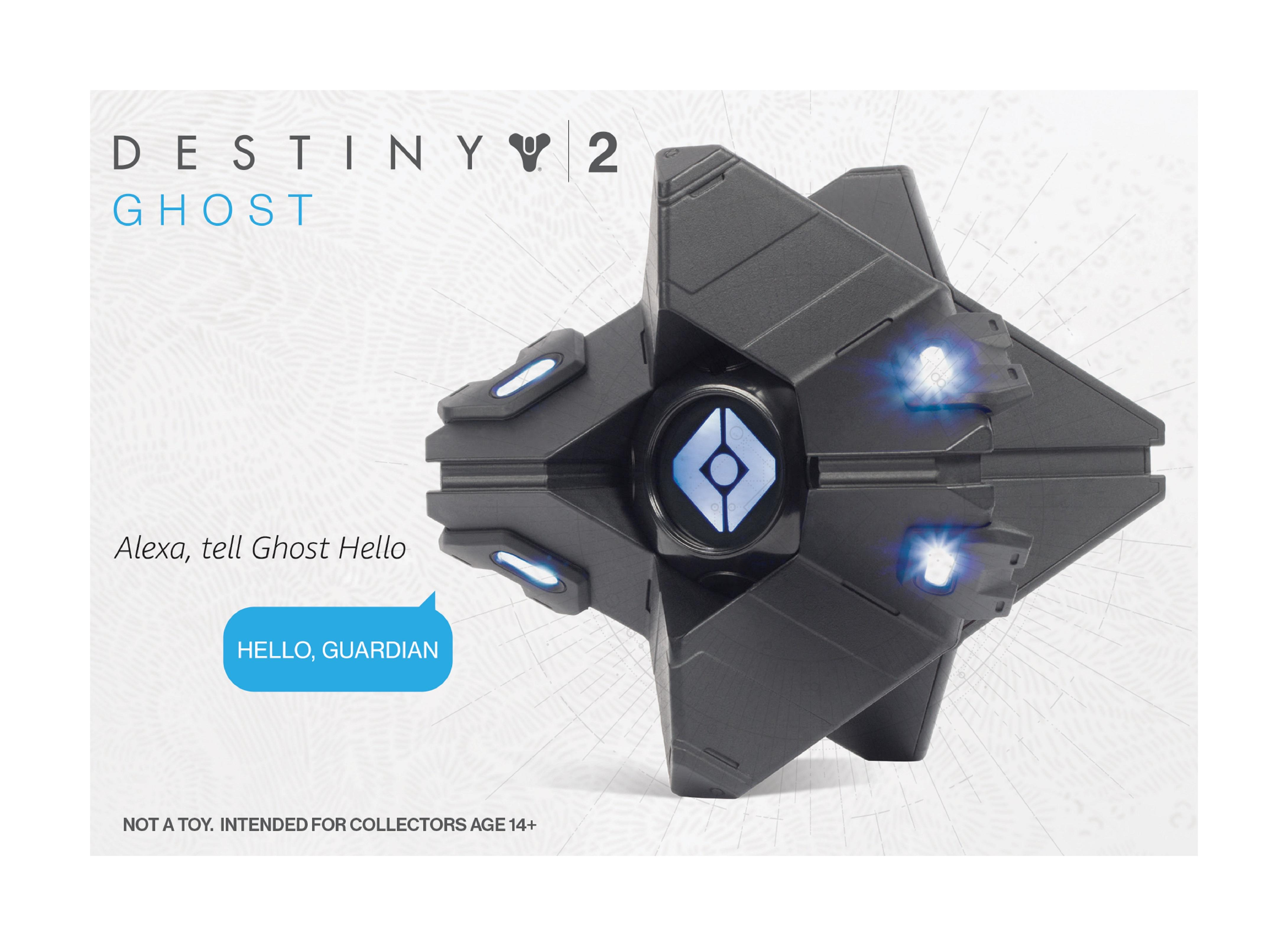 Limited Edition Destiny 2 Ghost - Collectible: Amazon co uk: PC