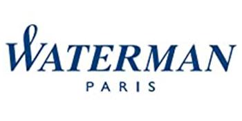 WATERMAN EXPERT BLACK CHROME TRIM BALLPOINT PEN 9322